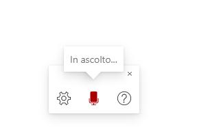Dettatura vocale Office365