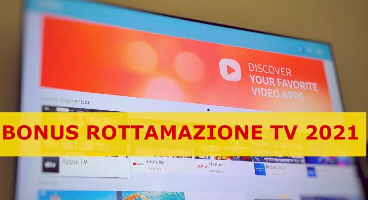 BONUS ROTTAMAZIONE TV